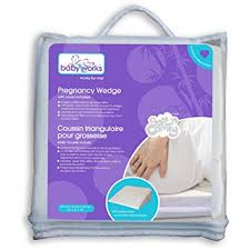 Baby Works Pregnancy Wedge with Bamboo Cover