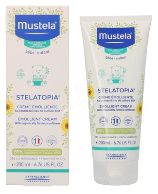 Mustela Stelatopia Emollient Cream 200ml 908703351