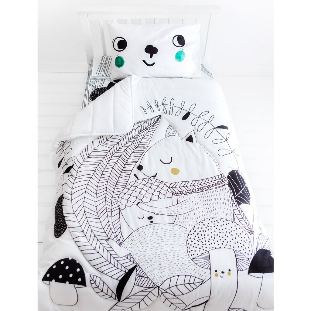 Rookie Humans Toddler Comforter Squirrel