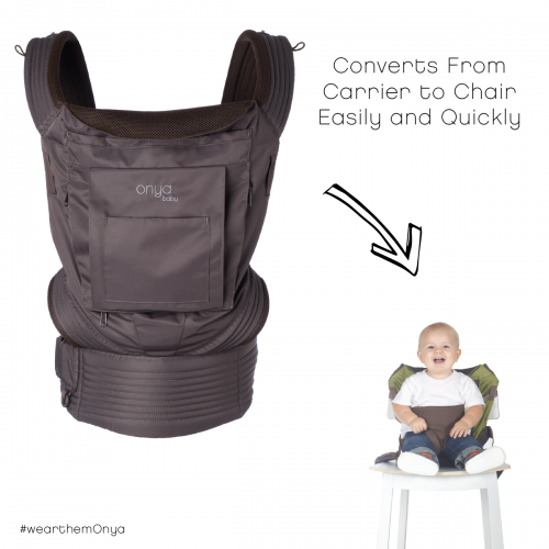 Onya Baby Nexstep Mesh Baby Carrier/Chair Harness - Java