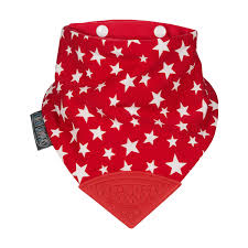 Cheeky Chompers Neckerchew - Red Star