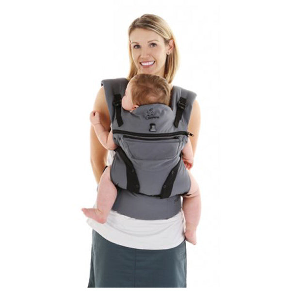 Chimparoo Multi 2.0 Baby Carrier - Silver Grey