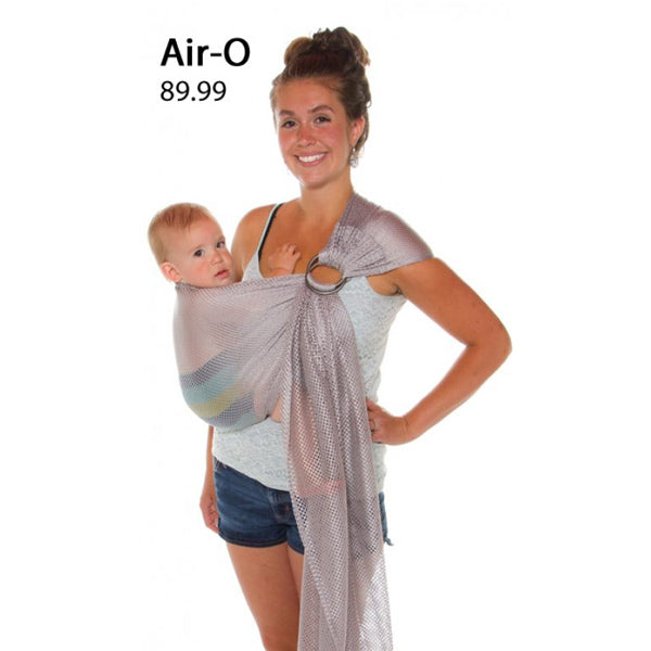 Chimparoo Ring Sling - Air-O Grey