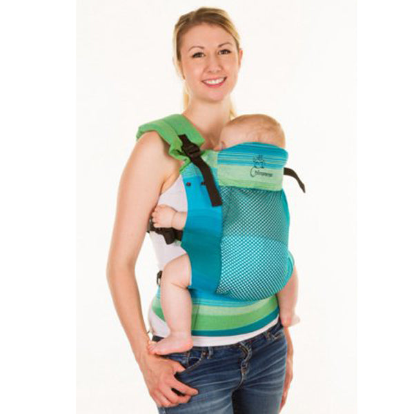 Chimparoo Trek Air-O Baby Carrier - Woven Lime