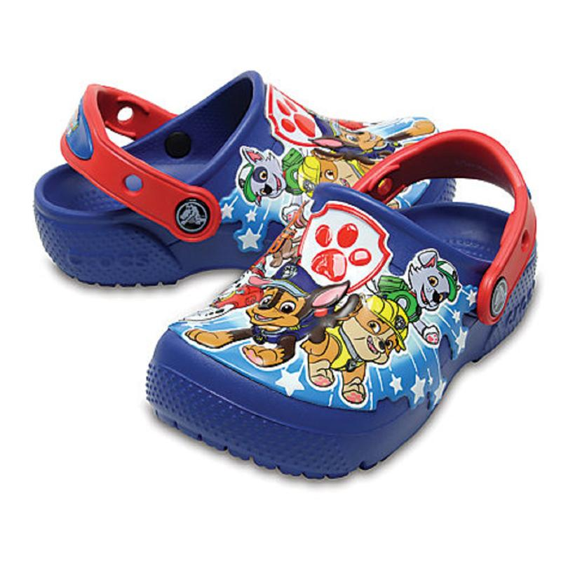 Crocs Funlab Paw Patrol Clogs Ps Blue Jean