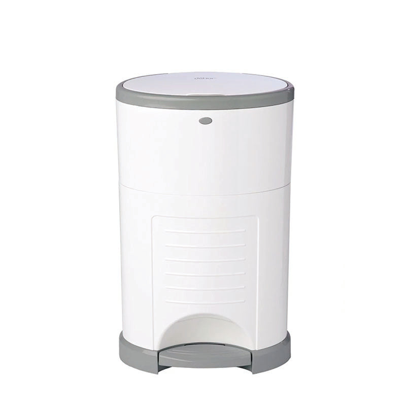 Dekor Mini Diaper Pail - White