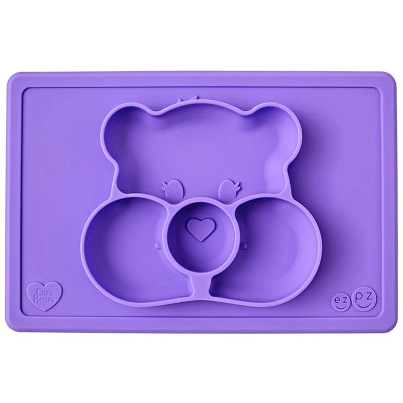 Ezpz Care Bear Mat Share Bear Purple - CanaBee Baby