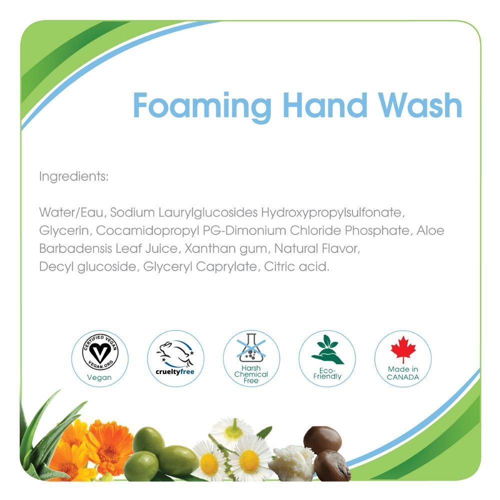 Aleva Naturals Foaming Hand Wash Water Lily 300ml