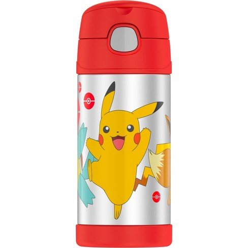 Thermos Funtainer Straw Bottle Pokemon