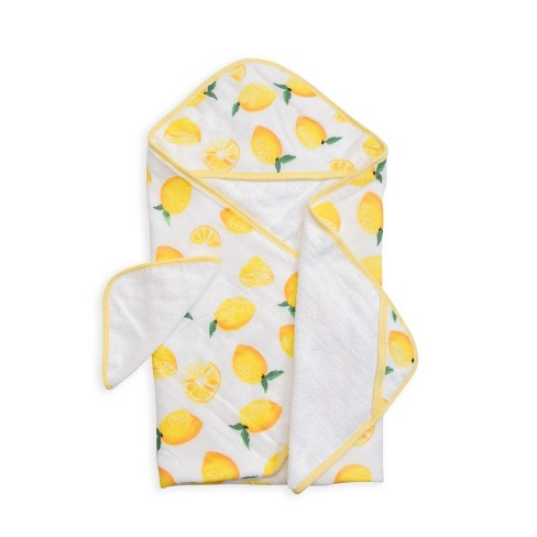 Little Unicorn Hooded Towel Set - Lemons