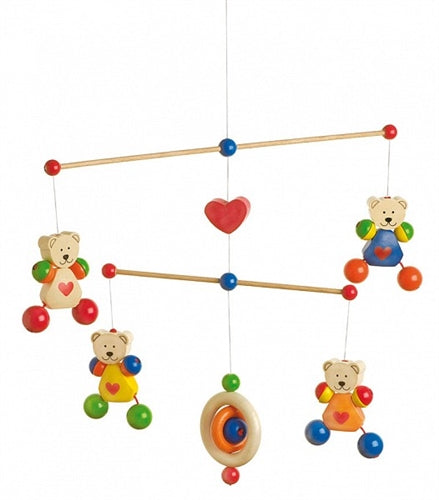 HEIMESS Mobile Bears with Hearts 760260