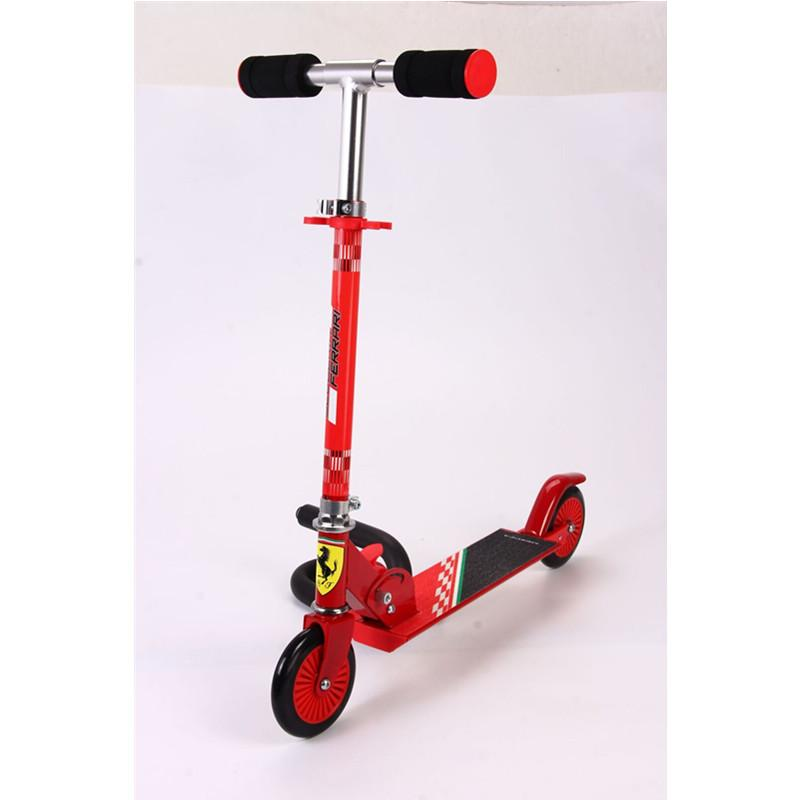 Kool Karz Ferrari Kids 2 Wheel Scooter