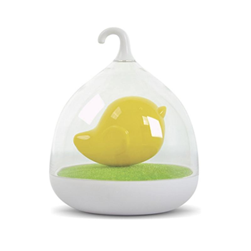 Kushies Baby Birdcage Night Light, Yellow