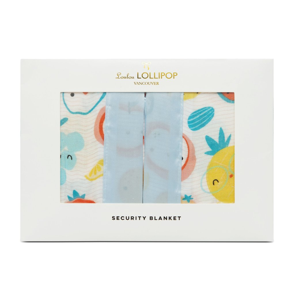 Loulou Lollipop Security Blanket Cutie Fruits