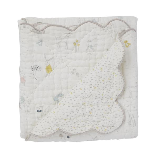 Petit Pehr Quilted Blanket Magical Forest (MFQNB)