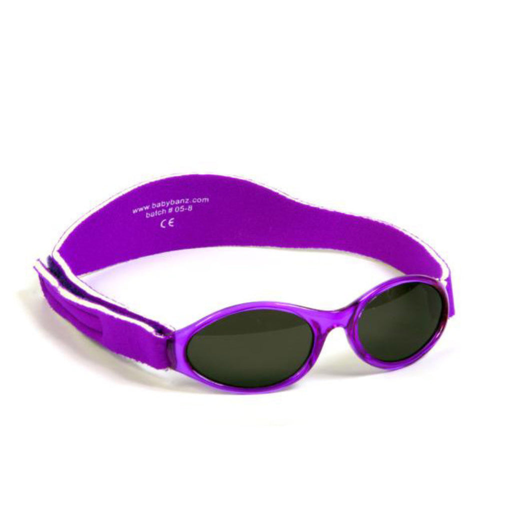 Baby Banz Adventure Infant Sunglasses -Paradise Purple