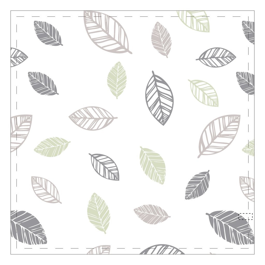 Perlim Pin Pin Cotton Muslin Blankets Leaves