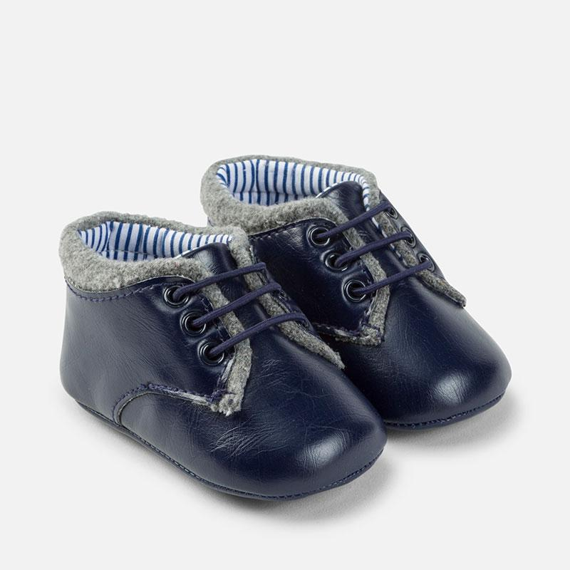 Mayoral Dress Boots Deep Blue - CanaBee Baby