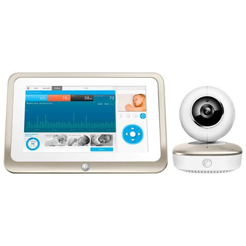 "Motorola Smart Nursery Wifi Video Monitor w/7"" Screen (MBP877CNCT)"