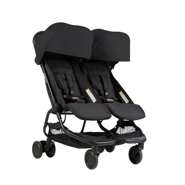 Mountain Buggy Nano Duo Black