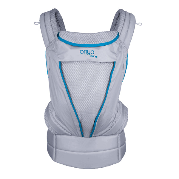 Onya Baby Pure Lightweight Carrier - Blue Atoll/Granite