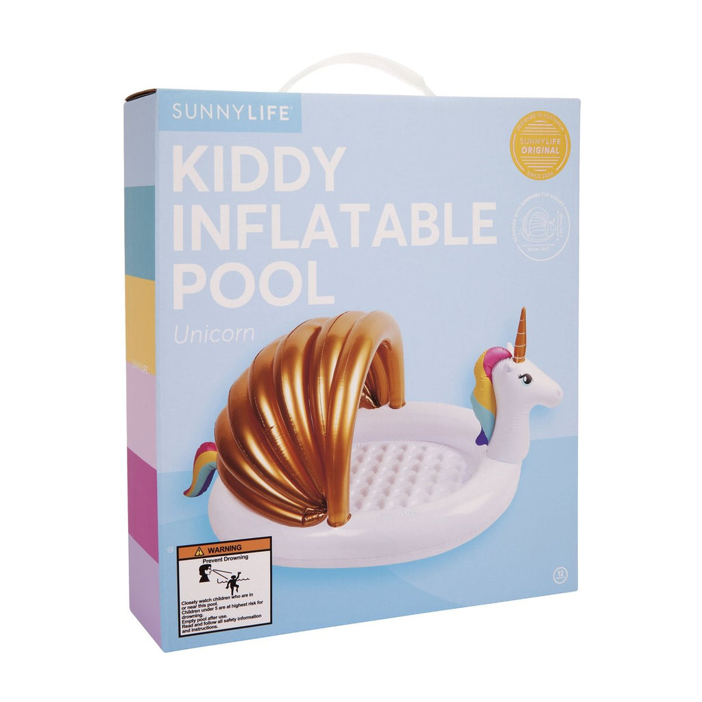 Sunnylife Kiddy Inflatable Pool Unicorn
