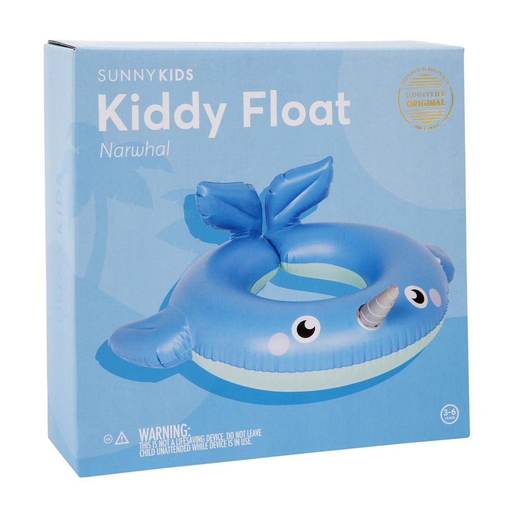 Sunnylife Kiddy Float Narwhal