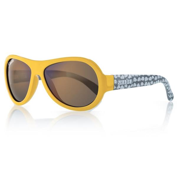Shadez Sunglasses Elephant Yellow 0-3 SHZ-59
