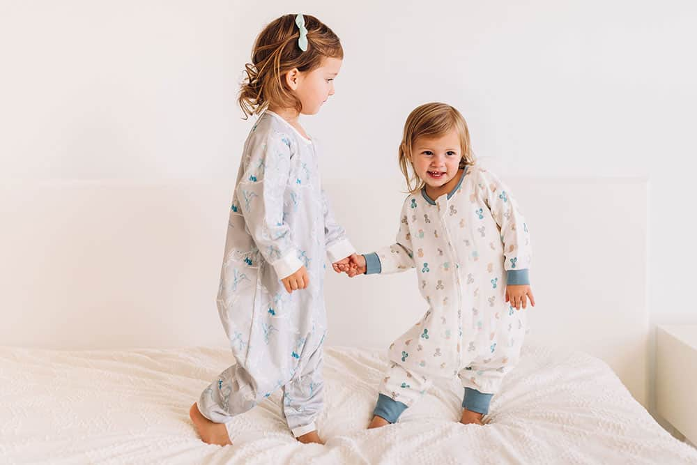 Nest Designs Long Sleeve Sleepsuit 0.6tog - Mighty Mouse