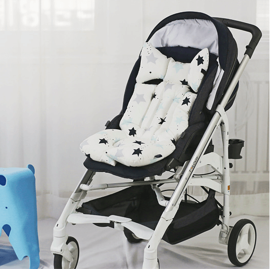 Little Seed Stroller Liner Twinkle Star Blue