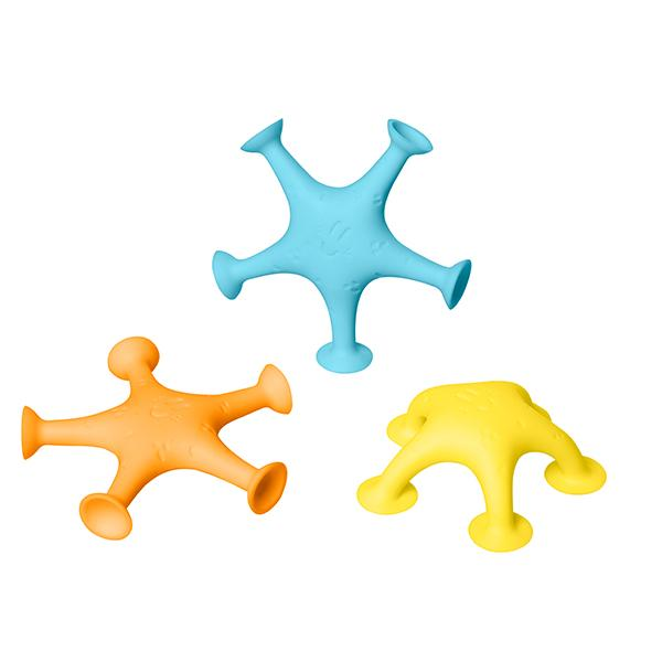 Ubbi Stretch N Stick Starfish Bath Toys UB-10565