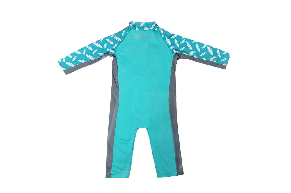 Stonz Sun Suit Teal/Surf Board