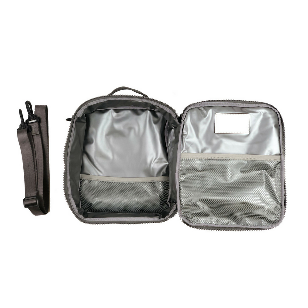 Twelve Little Adventure Lunch Bag Black