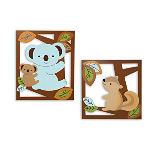 Lambs & Ivy Wall Decor Animal Antics
