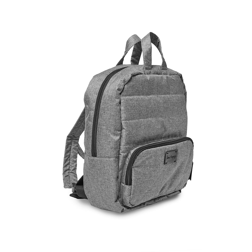7 AM Mini Backpack Heather Grey