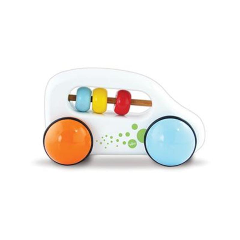 Vilac Vehicle Abacus Car White - CanaBee Baby