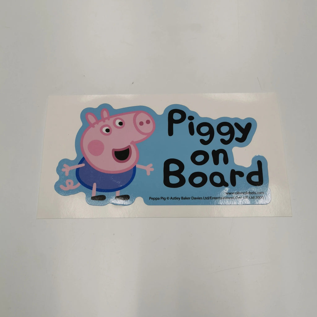 Oliver's Labels Peppa Pig Blue