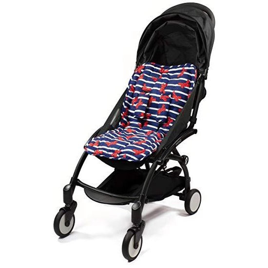 Choopie Stroller Seat Liner - French Bows