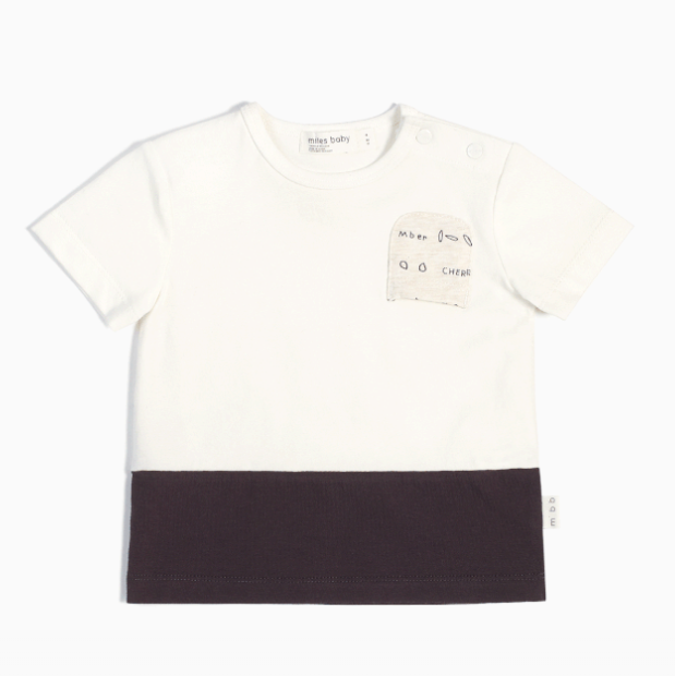 Miles Baby T-Shirt Off White