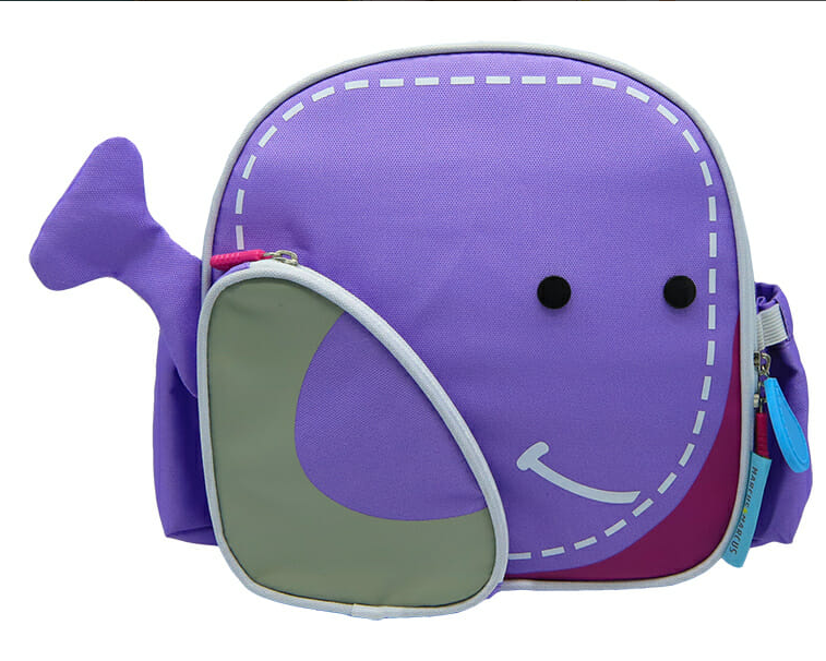 Marcus&Marcus Insulated Lunch Bag Backpack Whale