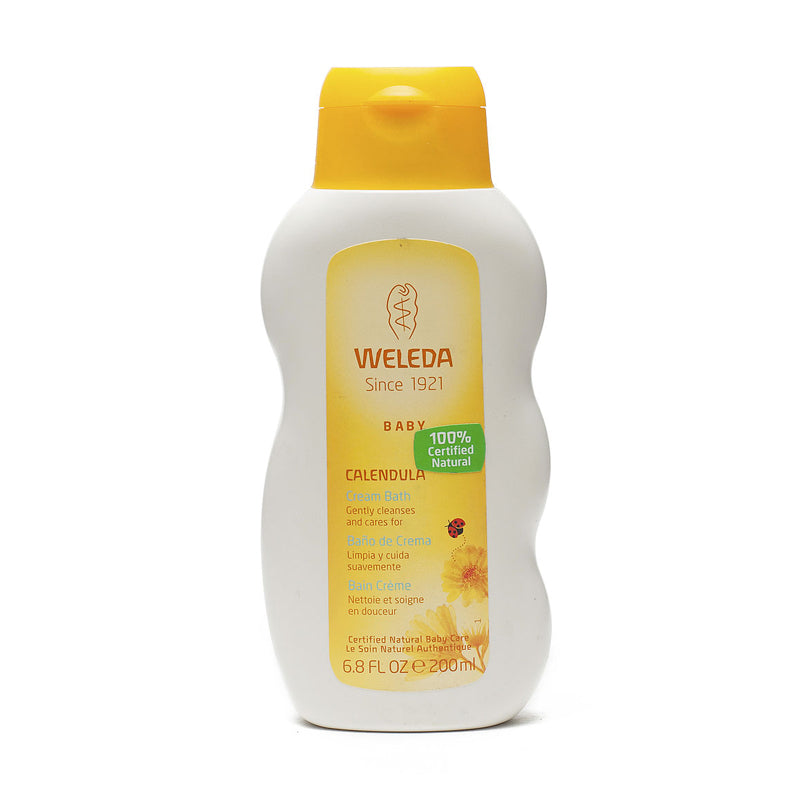 Weleda Baby Calendula  Cream Bath 6.8oz