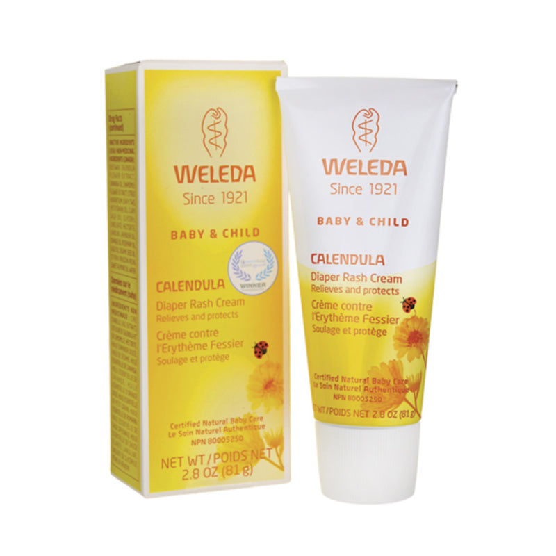 Weleda Baby Calendula Diaper Care Cream 2.8oz