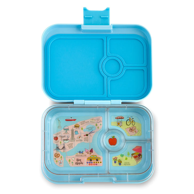 Yumbox Panino Lunch Box  4-Compartment - Liberty Blue