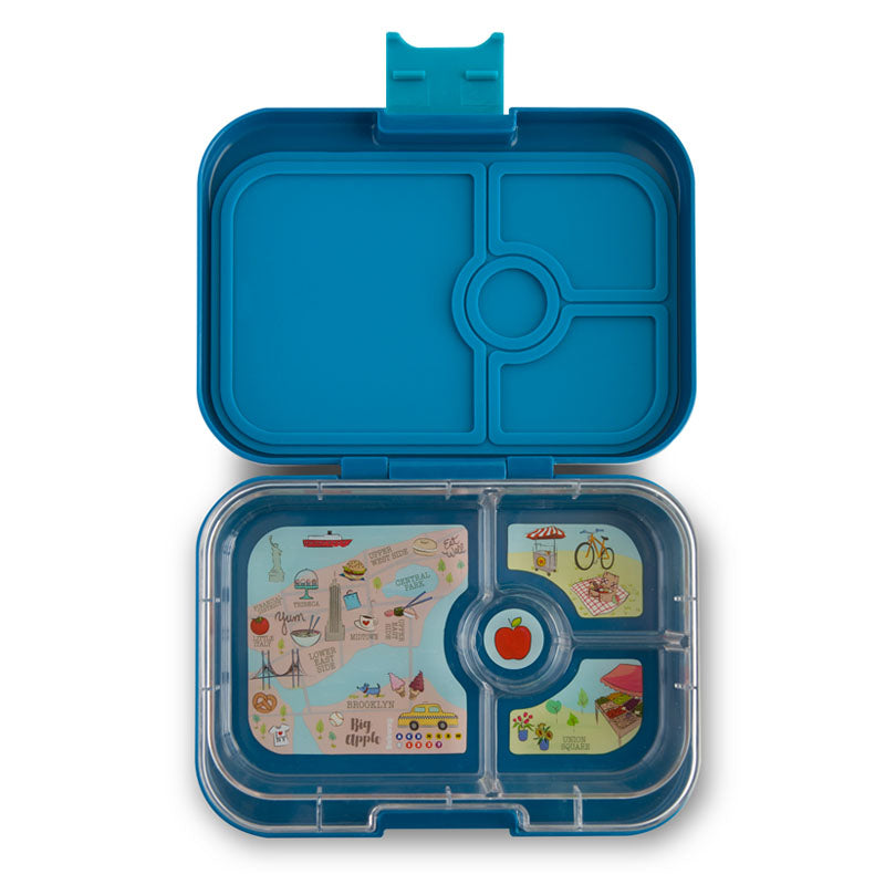 Yumbox Panino Lunch Box  4-Compartment - Empire Blue