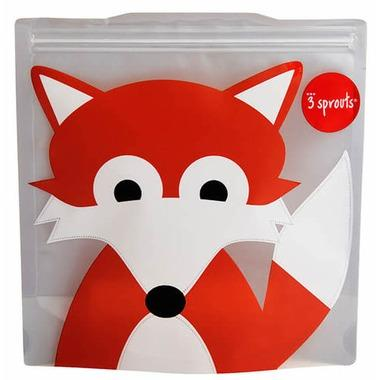 3 Sprouts Reusable Sandwich Bag Fox