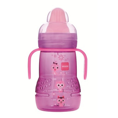 MAM Learn to Drink Cup 8M+ 9oz-Pink
