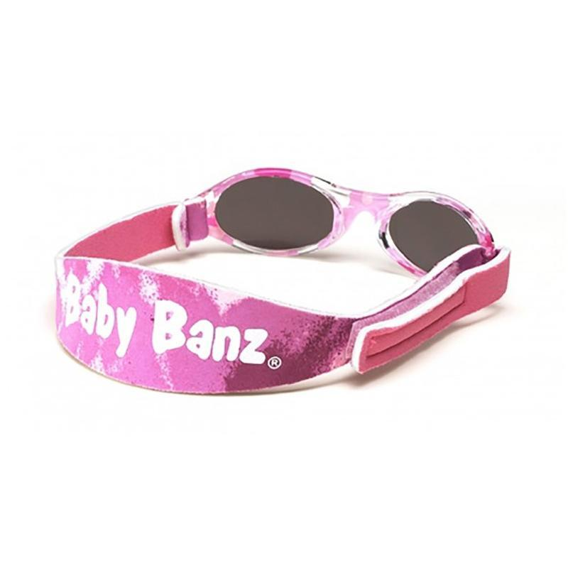 Baby Banz Adventure Infant Sunglasses - Pink Camo - CanaBee Baby
