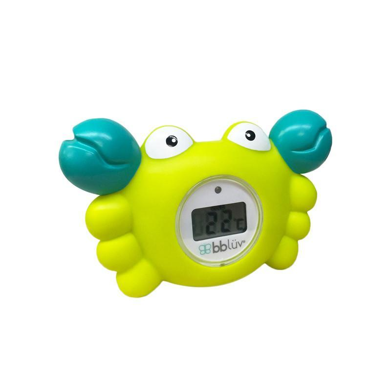 70617a819 Bbluv Kräb 3-in-1 Thermometer   Bath Toy - CanaBee Baby