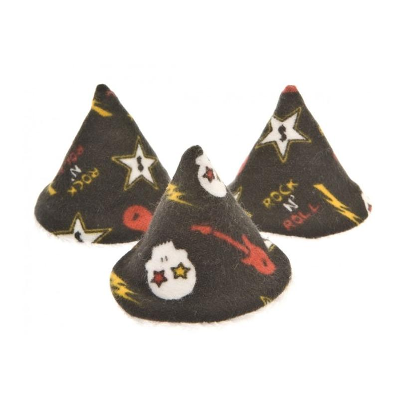 Beba Bean Pee-pee Teepee Cello Bag - Skulls Black - CanaBee Baby