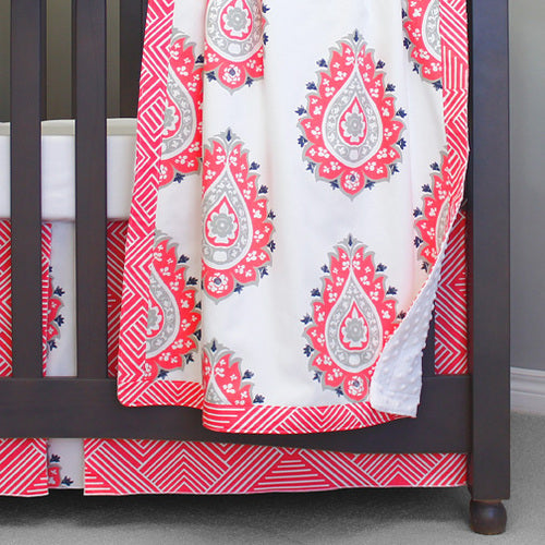 Sweet Kyla 3-piece Crib Bedding collection - Coralee